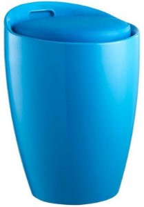 Puff Tubular em ABS Stam Azul