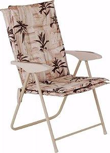 Cadeira Estofada Kairos Floral