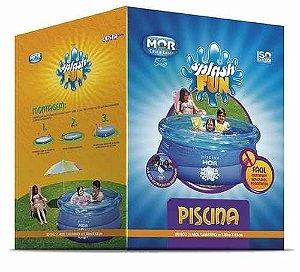 Piscina Redonda 1400l Inflavel Splash Fun Mor 1,80x0,63