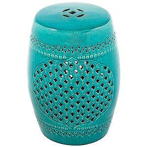 Puff Ceramic Ubaldi Verde