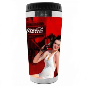 Copo Térmico Coca-Cola Pin Up Brunette 500ml (26220)