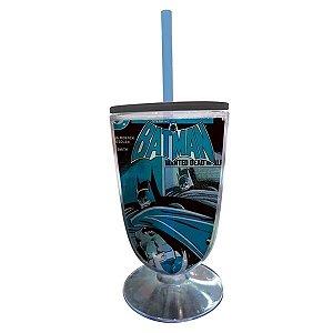 Taça Acrílica DC Comics Batman Shadown Azul (26881)