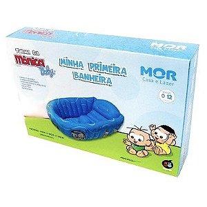 Banheira Inflavel Infantil Turma da Mônica Azul