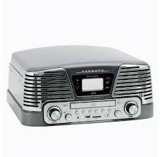 Vitrola Toca Discos Ctx Harmony Titanium - LP / CD / FM / USB / SD / Gravação