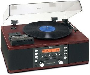 Vitrola Toca Discos Teac LPR-550usb Hi-fi Am/Fm, Cassete, Grava