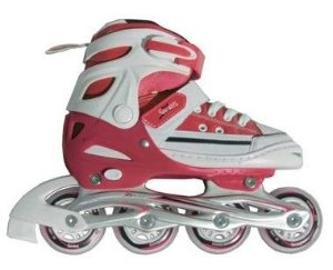 Patins Roller All Style Street Rosa
