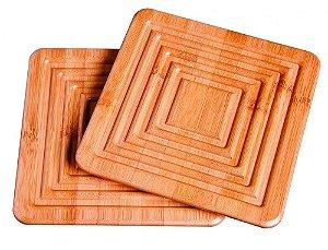 Apoio para Panela Bamboo - 2 peças