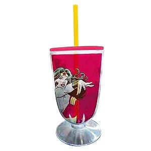 Taça Acrílica DC Comics Mulher Maravilha (26882)