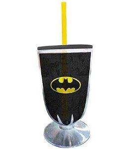 Taça Acrílica DC Comics Batman Preto e Amarelo (26884)