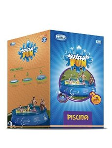 Piscina Redonda 7.800l Inflavel Splash Fun Mor 3,60x0,90