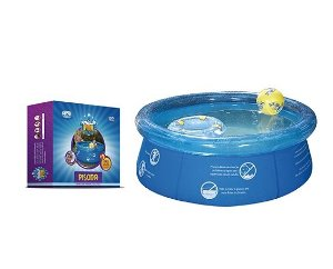 Piscina Redonda 1.000l Inflavel Splash Fun Mor 1,65x0,55