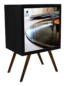 Armário com 1 Porta Estampa Disco  (0119-0066)
