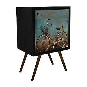 Armário com 1 Porta Estampa Bicicleta  (0119-0049)
