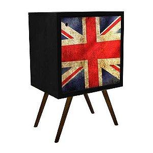 Armário com 1 Porta Estampa Bandeira Inglesa  (0119-0681)