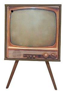 Armário com 1 Porta Estampa Televisão Antigo (0119-0850)