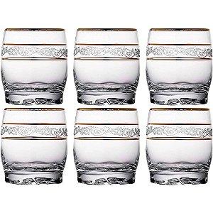 Conjunto de Copos para Whisky Adora Sultan 6 Peças 290ml