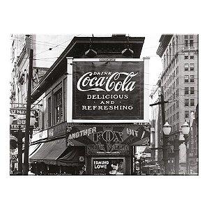 Tábua de Vidro Coca-Cola Landscape Outdoor 30x40cm (26800)