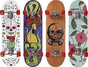 Skate ROW Iniciante 79x20cm Sortido (4 Estampas)