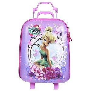 Mala Infantil de Rodinhas Disney Fadas TinkerBell Sininho (51032)