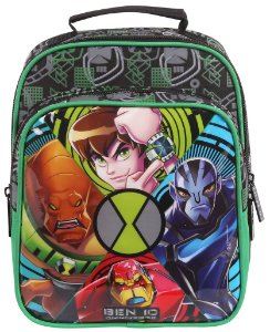 Lancheira Infantil Soft com Bolso Cartoon Network Ben 10 60049