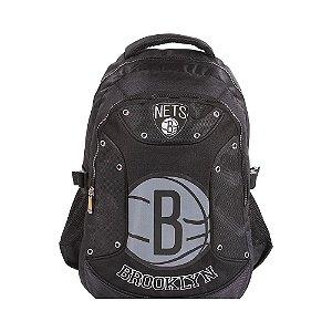 Mochila Escolar Grande Alça Para Costas NBA Brooklyng Nets (60316)