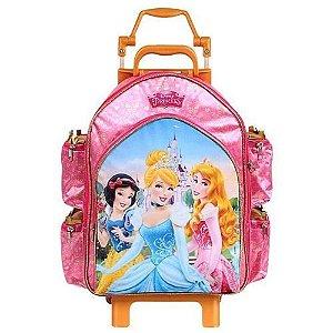 Mochila Escolar Grande de Rodinha Princesas Disney  (60394)
