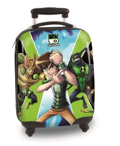Mala Infantil com Rodinhas Cartoon Network Ben 10 (60057)