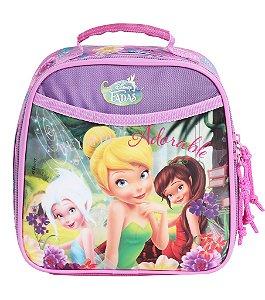 Lancheira Escolar Infantil Soft Fadas Disney (60194)