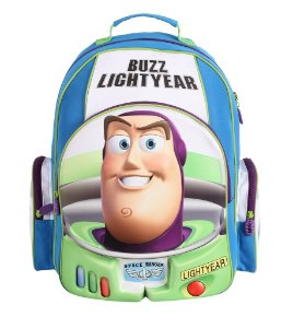 Mochila Escolar Grande Alça para Costas 3D Toy Story - Buzz Lightyear (60468)