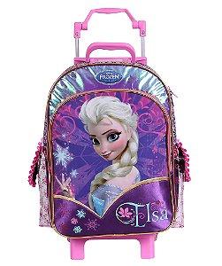 Mochilete Escolar de Rodinha Grande Frozen - Elsa (60211)