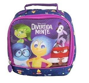 Lancheira Escolar Infantil Soft Disney Divertidamente Edição Azul (60158)