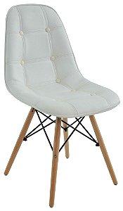 Cadeira Design Charles Eames Eiffel Botonê Branco