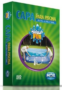 Capa para Piscina Splash Fun 6.700L e 7.800L