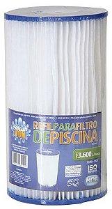 Refil para Filtro de Piscina Vazão 3.600 L/Hora