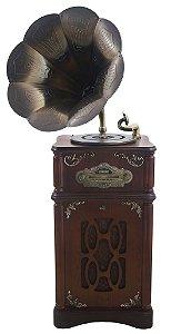 Gramofone com Caixa de Madeira - 16300