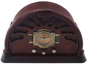 Rádio Retrô em Madeira 220V  (16305)