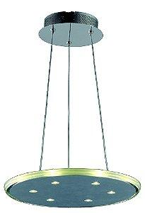 Pendente em Aço Luz de Led  (KL017) 36cm