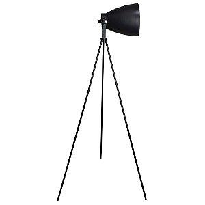 Luminária de Chão em Aço Preto (LU008B)