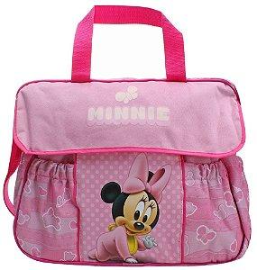 Bolsa Maternidade Basic com Trocador Baby Go Minnie (2465)