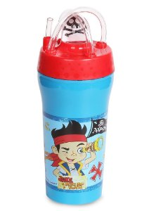 Copo com Canudo 300ml Jake e os Piratas (1811)