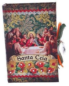 Caixa Livro Decorativa Santa Ceia (8643)