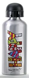 Squeeze de Alumínio Estampa Happy Romero Britto