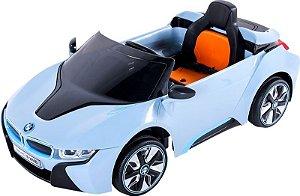 Carro Elétrico cm Controle Remoto BMW i8 Azul (927000)