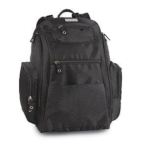 Mochila para Bebês Diaper Baby Bag Sport Backpack Preta