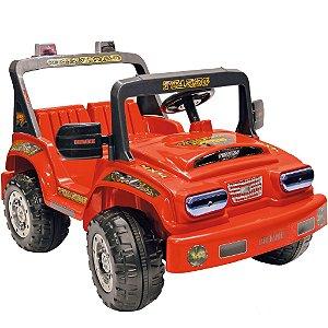 Carro Elétrico Infantil Jeep Tuareg Two Position Laranja