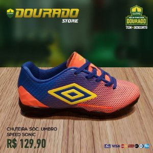 Chuteira Society Umbro Speed Sonic