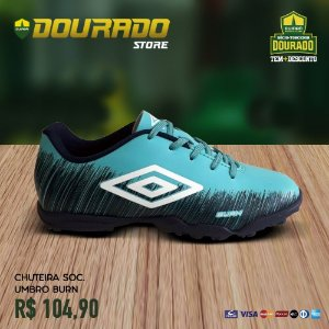 Chuteira Society Umbro Burn