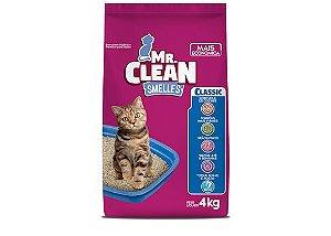 Areia Granulado Sanitario Mr Clean Classic 4KG