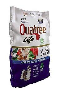 QUATREE LIFE ADULTO PEQUENO PORTE SALMÃO 10KG