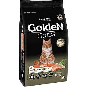 Golden Gato Castrado Salmão 3kg